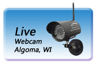 Algoma, WI - Live WebCam